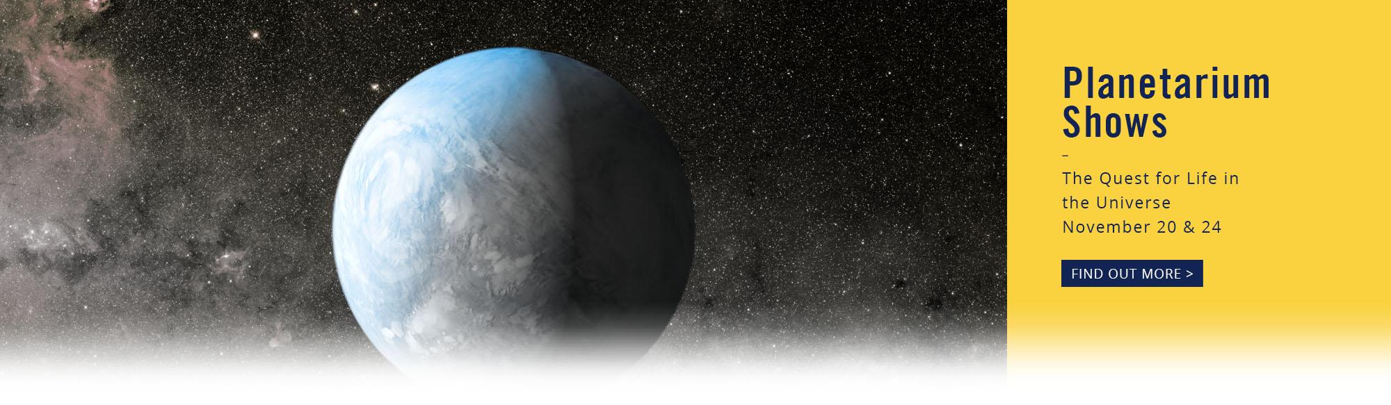 Planetarium-Webslider